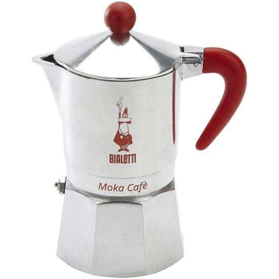 "ESPRESSOR BIALETTI BREAK ""R"" M/P ORANGE 3 CESTI"