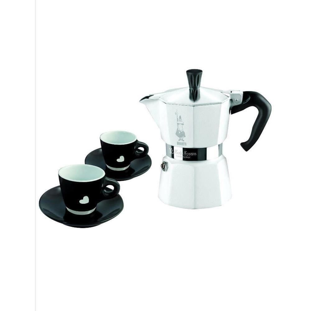 Set Espresso Bialetti Moka Chic