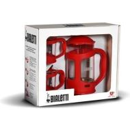 Set Coffee Press Bialetti Rosu