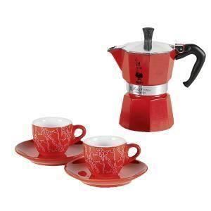 Set Espresso Bialetti Red Passion