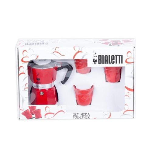 Set espresso moka Together Bialetti 4 piese