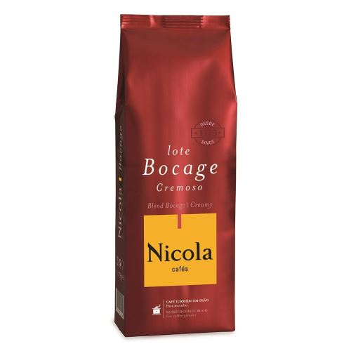 Cafea boabe Nicola Cafes Bocage Cremoso, 250g