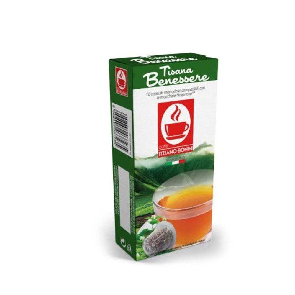 Capsule CEAI wellness TIZIANO BONINI, compatibile NESPRESSO, 10 buc.