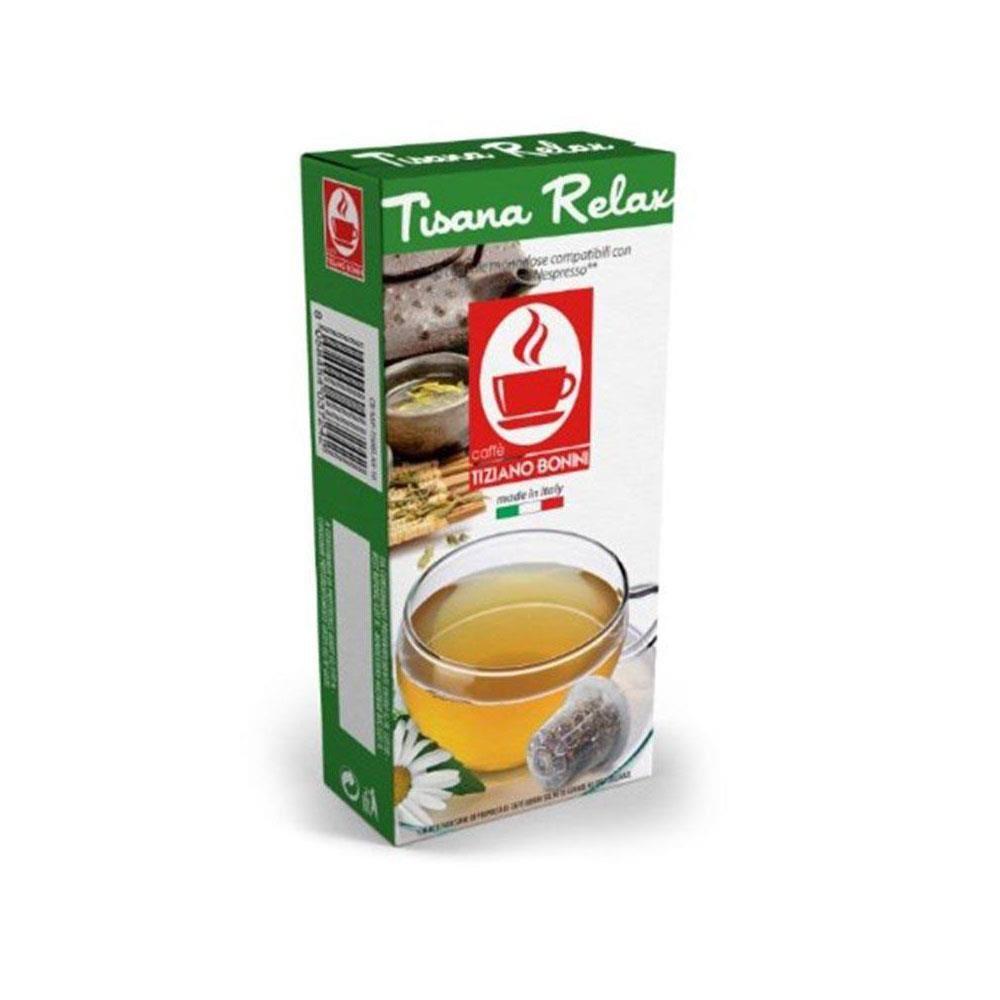 Capsule CEAI relaxant TIZIANO BONINI, compatibile NESPRESSO, 10 buc.