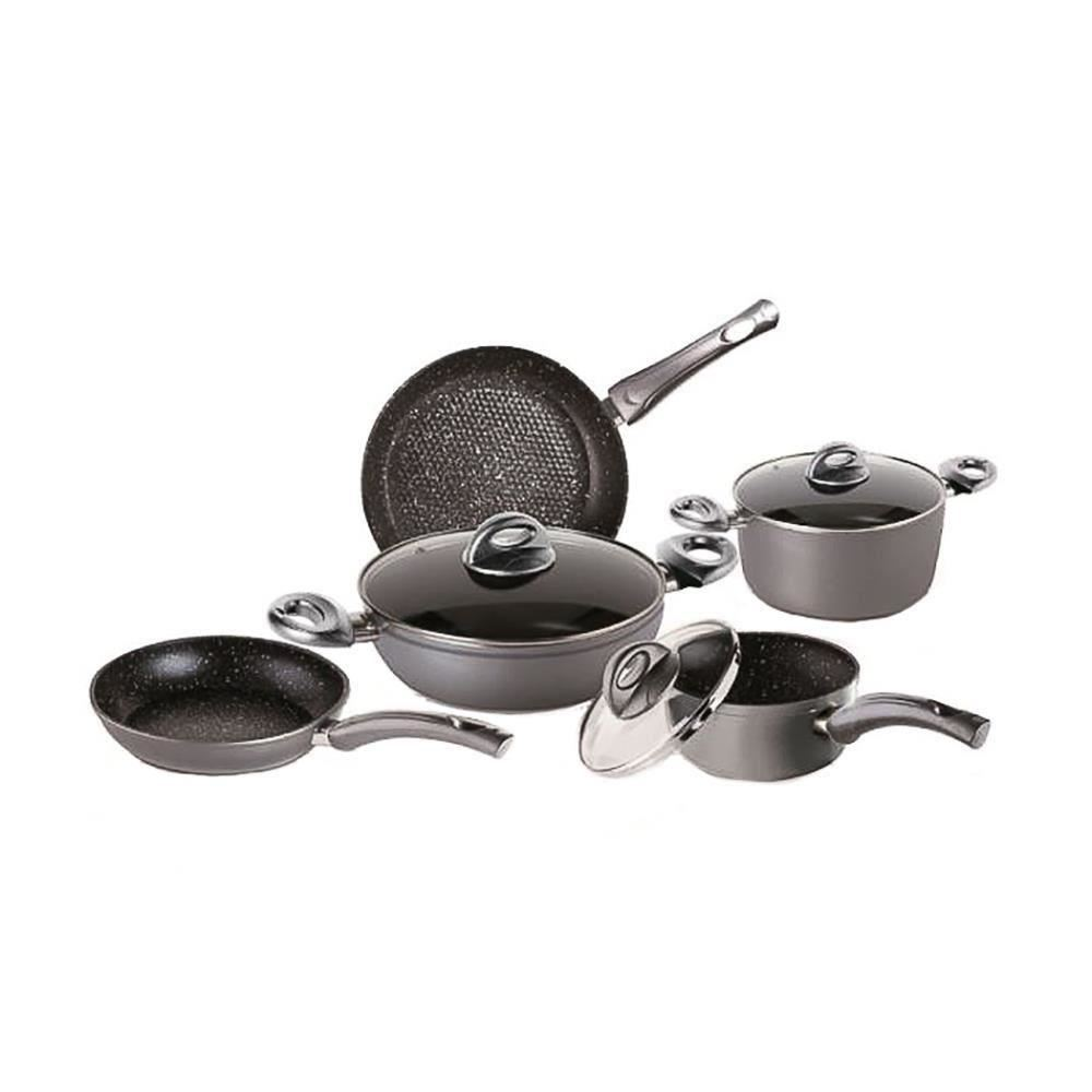 Set 8 Piese Bialetti Energy Stone (inductie)