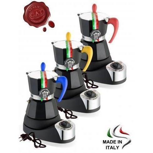 ESPRESSOR MOKA ELECTRIC FASHION 4 CESTI